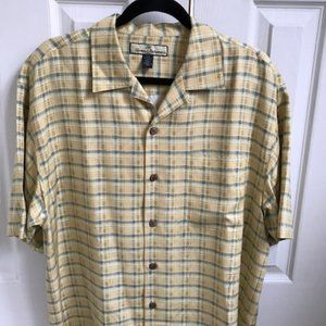 Tommy Bahamas Silk Island Camp Shirt